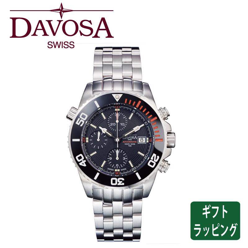 【正規販売】DAVOSA ダボサ Argonautic Lumis Chrono メンズ 自動巻 機械式 腕時計 161.508.60