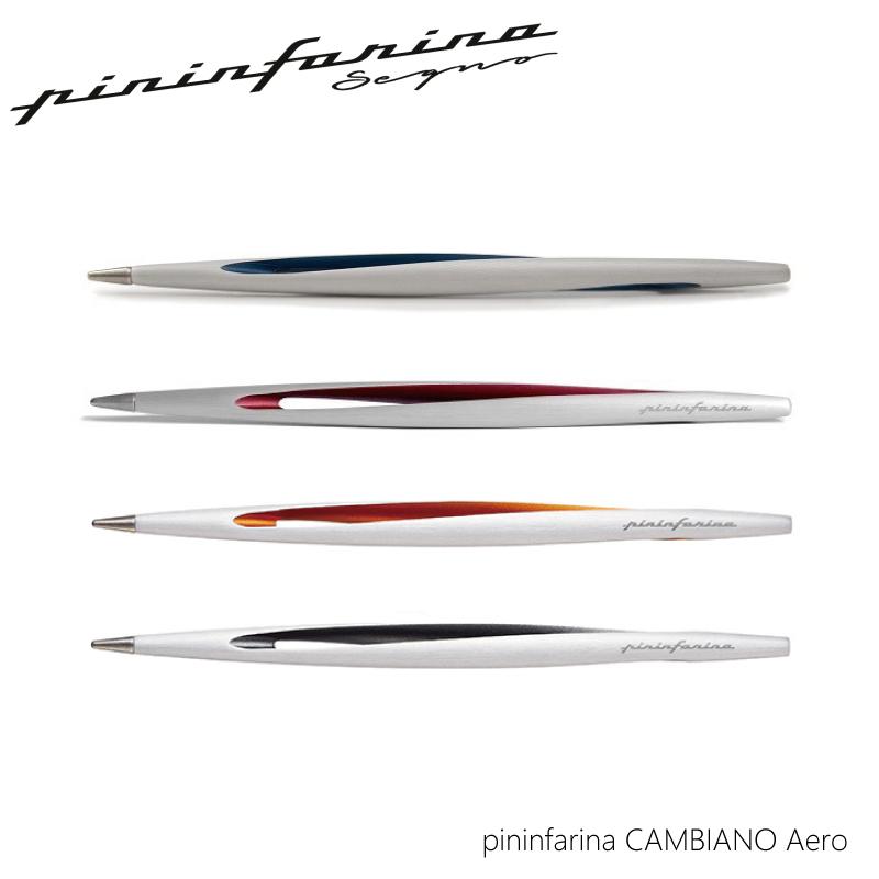 【正規販売】ピニンファリーナ pininfarina エアロ インクレスペン ブルー レッド オレンジ チタン