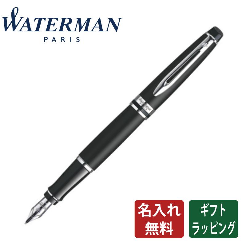 【正規販売店】WaterMan ウォーターマン エキスパート エッセンシャル マットブラックCT 万年筆 フランス 高級筆記具