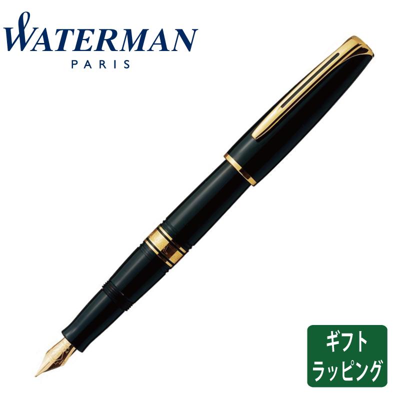 【正規販売店】WaterMan ウォーターマン チャールストン エボニーブラックGT 万年筆 フランス 高級筆記具
