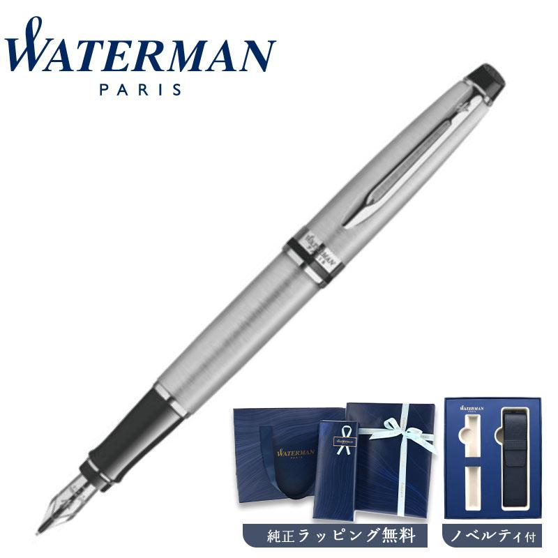 【正規販売店】WaterMan ウォーターマン エキスパート エッセンシャル メタリックCT 万年筆 フランス 高級筆記具