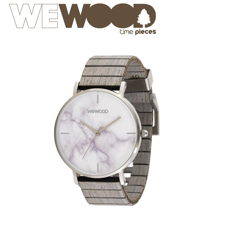 【正規販売】WEWOOD ウィーウッド AURORA レディース 男女兼用 クォーツ MARBLE GRAY