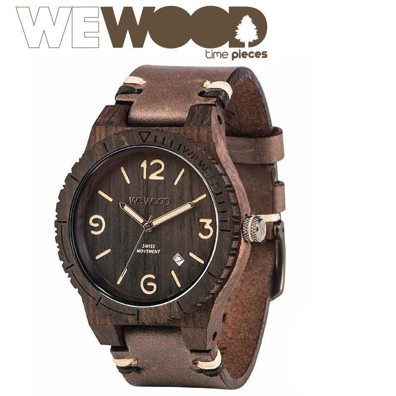 【正規販売店】ウィーウッド WeWood ALPHA SW BLACK ROUGH 腕時計 【送料無料】【あす楽】