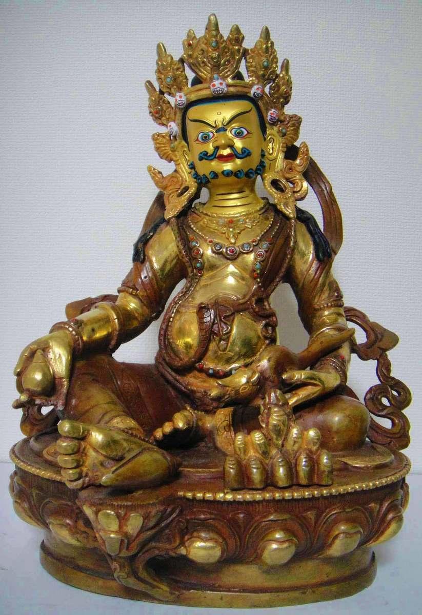 ◆毘沙門天(ヴァイシュラヴァナ)像◆仏教 チベット