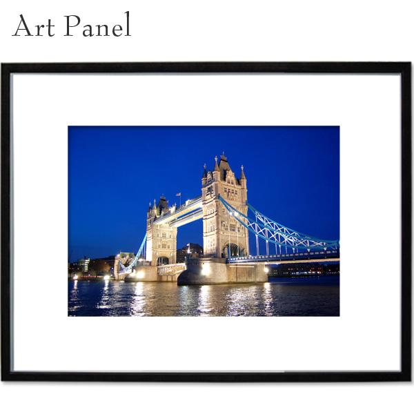 アートパネル ロンドン 橋 壁掛け パネル a2 写真 飾り 絵画 ポスター 大きい 壁 インテリア 装飾