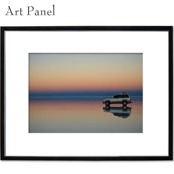 風景パネル ウユニ塩湖 朝焼け アート 壁掛け a2 写真 飾り 絵画 ポスター 大きい 壁 インテリア 装飾 ディスプレイ