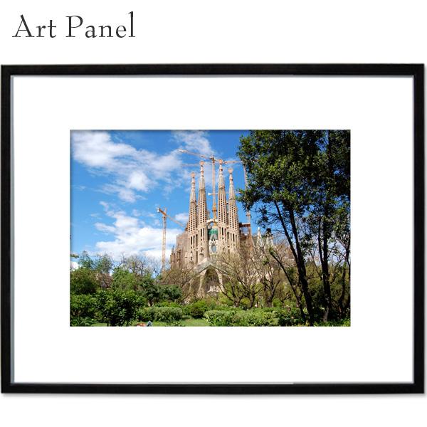 バルセロナ サグラダファミリア アートパネル 壁 飾り 写真 パネル 海外 アート モダン 玄関 壁掛け a2 絵画 ポスター 大きい