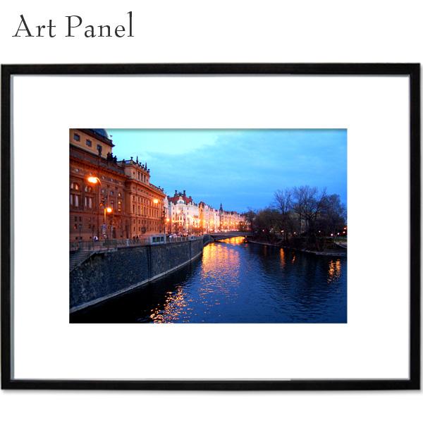 海外風景 アートパネル 夜景 壁 飾り 写真 パネル 海外 アート モダン 玄関 壁掛け a2 絵画 ポスター 大きい
