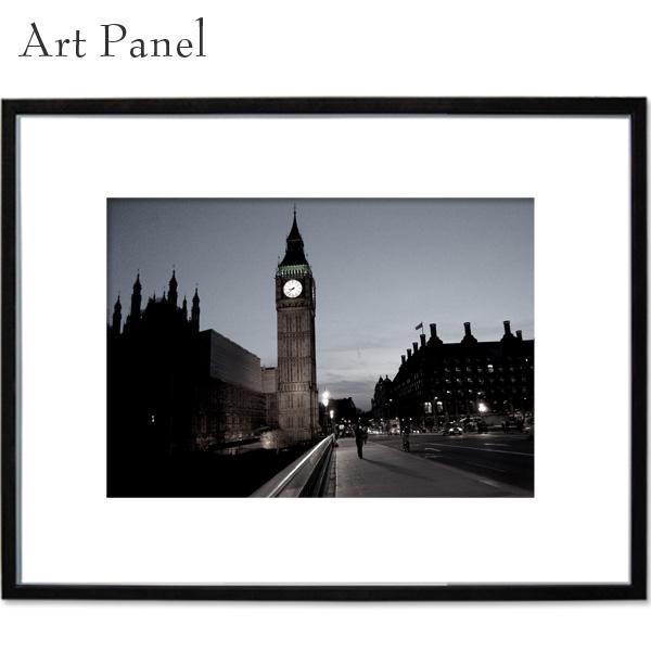 モノクロ アートパネル ロンドン ヨーロッパ インテリア 写真 モデルルーム 店舗 部屋 住宅 飾り a2 絵画 おしゃれ ポスター 大きい