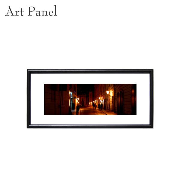 おしゃれ 壁掛け 絵 横長 海外風景 ポスター アートパネル インテリア アート 額縁 モダン