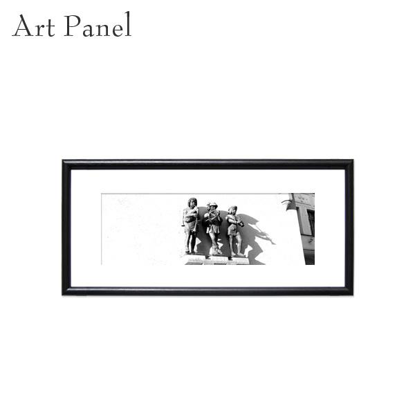 壁掛け アート 横長 パネル モノクロ アートボード 白黒 インテリア モノトーン おしゃれ 絵画 ポスター