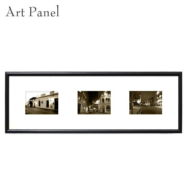 アートパネル 横長 レトロ インテリア 壁掛け 風景 額縁 写真 壁面 飾り 3枚 アートボード