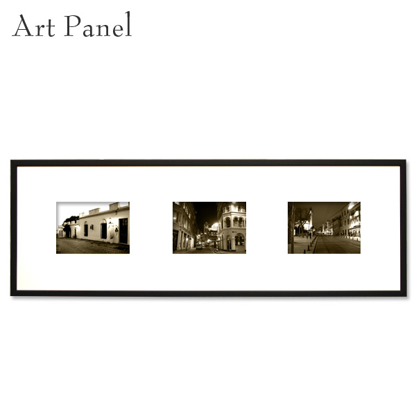 アートパネル 横長 レトロ インテリア 壁掛け 風景 アルミ 額縁 写真 壁面 飾り 3枚 アートボード