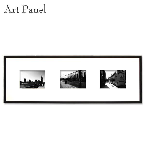 アートパネル モノトーン 横長 ロンドン 街並み モノクロ 白黒 インテリア 壁掛け おしゃれ 写真 壁面 飾り 3枚 アートボード