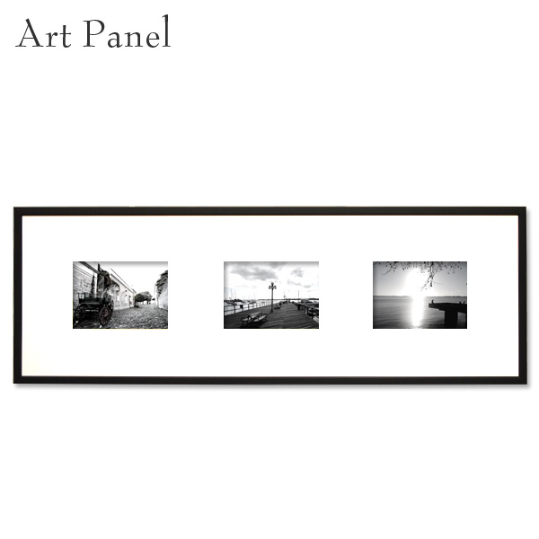 横長 アートパネル 壁掛け アート モノクロ 街並み 白黒 インテリア おしゃれ 写真 絵画 ポスター 3枚 アートボード