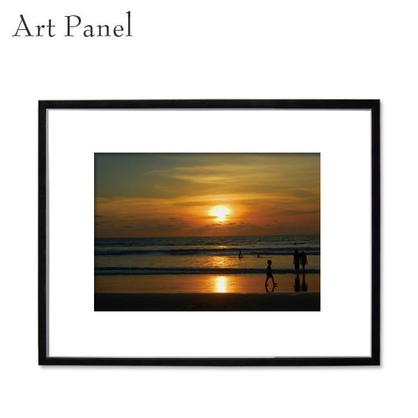 アートパネル 額付き 風景 写真 壁掛け インテリア 黒フレーム アルミ アクリル 大きめ 付属品 壁面 装飾 飾り物