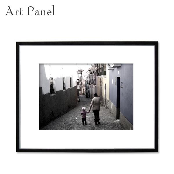 インテリアアートパネル モノトーン おしゃれ 壁掛け 大きい フック付 アルミフレーム リビング 玄関 壁 装飾