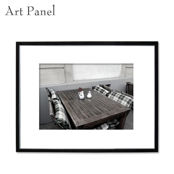 インテリア アートパネル モノクロ 壁掛け 風景 アルミ 額縁 写真 壁 飾り おしゃれ アートボード