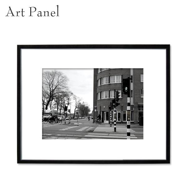 インテリア アートパネル モノクロ 壁掛け 海外 風景 アルミ 額縁 写真 壁 飾り おしゃれ アートボード