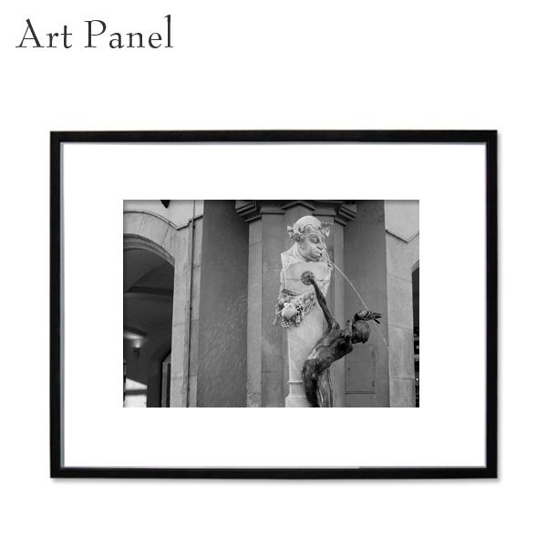 壁インテリア アートパネル モノトーン 壁掛け 海外 風景 アルミ 額縁 アート写真 飾り おしゃれ アートボード