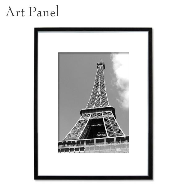 エッフェル塔 モノクロ パリ インテリア 壁掛け アートパネル 白黒写真 ディスプレイ 店舗 フォトパネル アートボード
