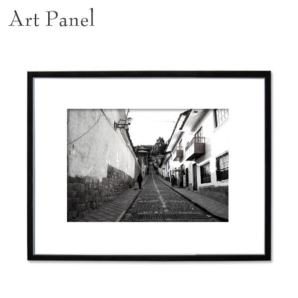 アートパネル モノトーン インテリア 海外 フレーム付き 壁掛け アート 白黒 写真 風景 フォトパネル インテリアボード