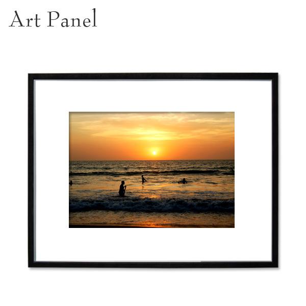 アートパネル 海 インテリア 海外風景 額 フレーム付き 壁掛け アート 写真 壁面 インテリアボード