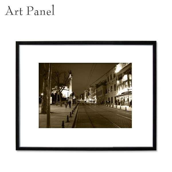 インテリアアートパネル 街並み 海外風景 額縁 フレーム付き 壁掛け アート 写真 壁面 インテリアボード