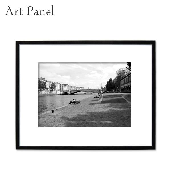 アートパネル 壁掛け アート モノトーン 海外風景 額縁 フレーム付き 壁面 飾り アルミ アクリル インテリアボード