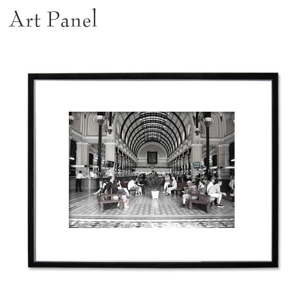 アートパネル モノトーン 海外 白黒 インテリア モダン 壁掛け 玄関 大きめ 風景 フレーム付き 写真 壁面