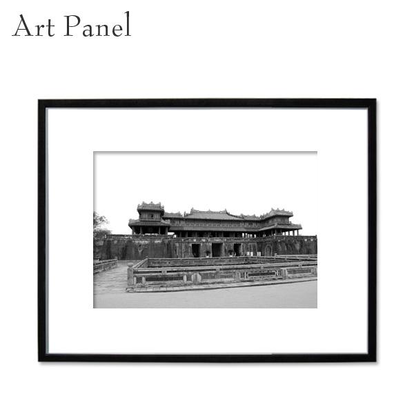 アートパネル 街並み 壁掛け モノクロ 装飾 白黒 雑貨 インテリア モダン フレーム付き 写真 壁面 パネル