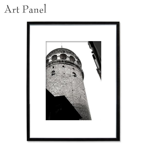 壁掛け アート ウォールパネル モノクロ 海外 インテリア モダン アートパネル 額付き 写真 壁面 アートボード