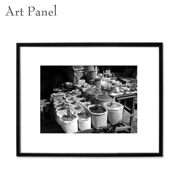 アートパネル モノクロ デリー 海外風景 白黒インテリア モダン 壁 フレーム付き 写真 壁掛け アートボード