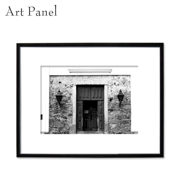 アートパネル モノクロ レトロ 街並み アート 写真 白黒 インテリア モダン 壁面 壁掛け アートボード