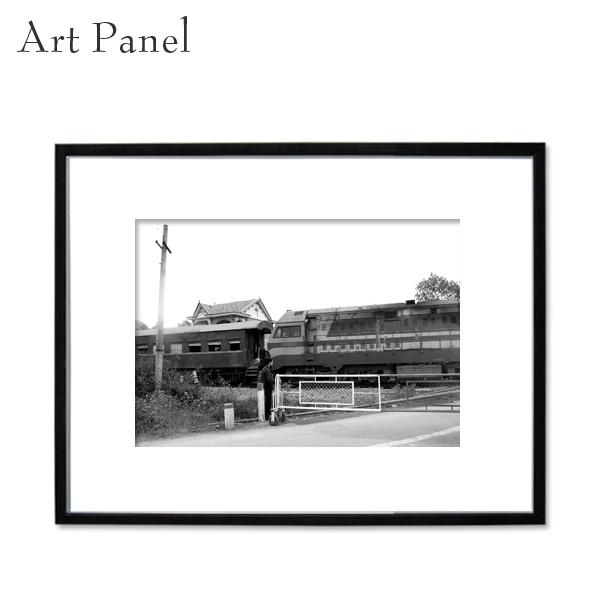 アートパネル モノクロ ベトナム 街並み アート 写真 白黒 インテリア モダン 壁面 壁掛け アートボード