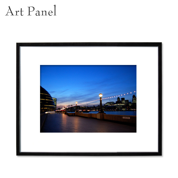 ロンドン アート パネル 写真 風景 インテリア モダン 壁面 フレーム付き 壁掛け 住宅 展示 絵 ディスプレイ