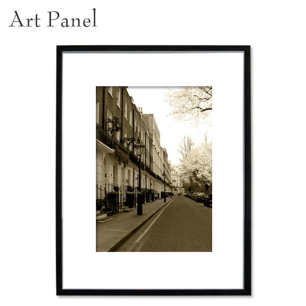 アートパネル ロンドン レトロ 海外風景 セピア 写真 インテリア モダン 縦 額縁 街並み 絵画 ポスター 壁飾り