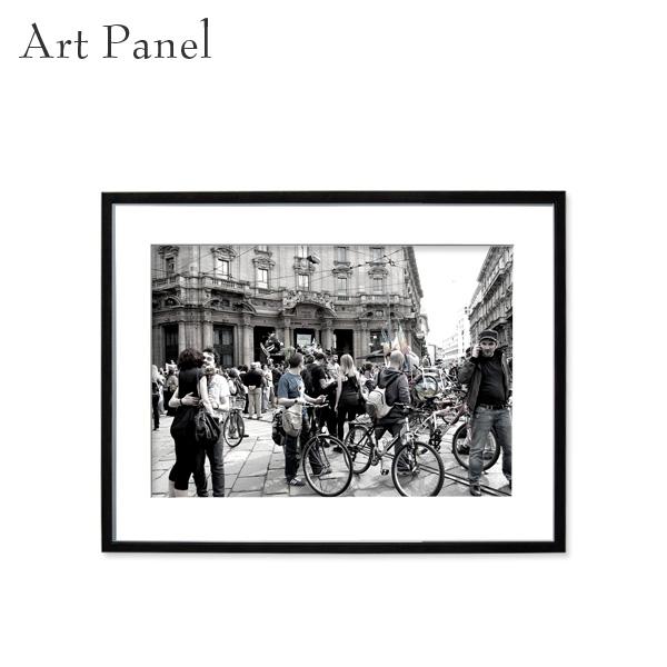アートパネル モノクロ レトロ 白黒 壁掛け インテリア 黒フレーム アルミ アクリル 壁面 モノトーン 写真
