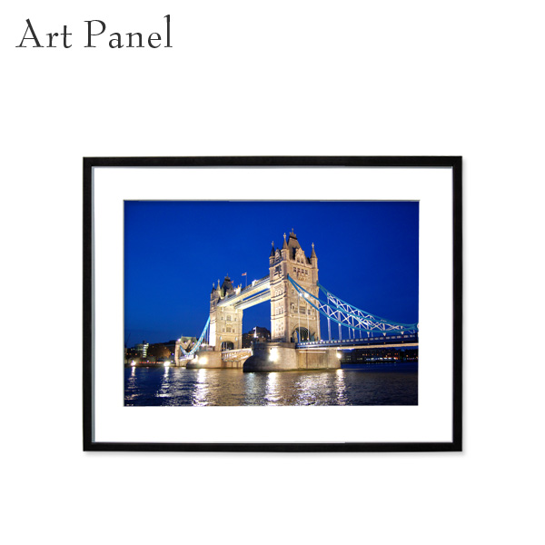 アートパネル ロンドン インテリア 壁掛け アルミフレーム アクリル 額縁 パネル 風景 写真