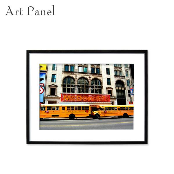 アートパネル ニューヨーク インテリア 壁掛け アルミフレーム アクリル 額縁 パネル 街並み 写真 付属品