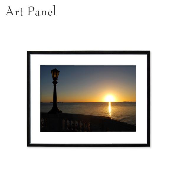 アートパネル 夕日 おしゃれ 壁 インテリア パネル 写真 アート フォト ウォールアート インテリアコーディネート