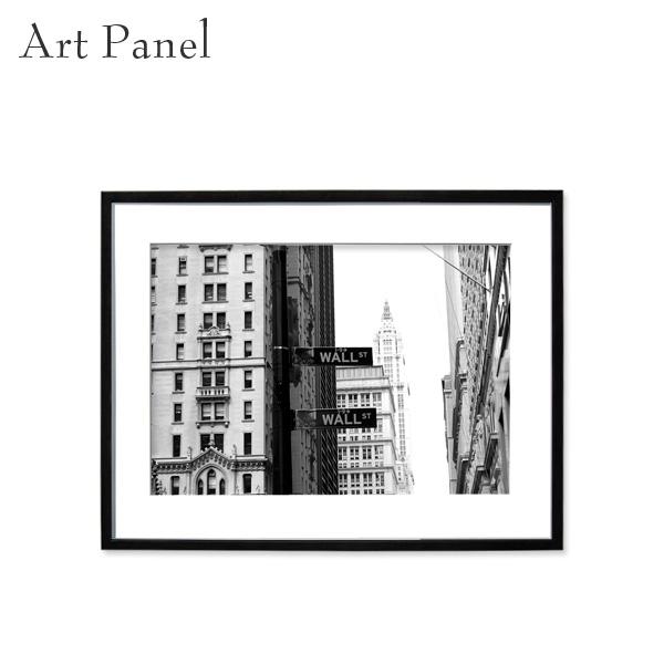 アートパネル モノトーン 壁掛け おしゃれ ニューヨーク 家 インテリア コーディネート リビング 額付き 写真入り