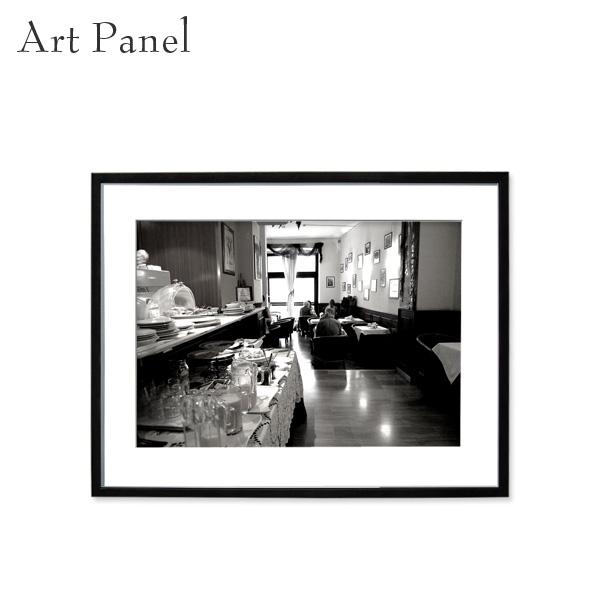 アートパネル モノトーン 壁掛け インテリア 海外風景 デザイン 壁飾り アルミ 額縁 額付き