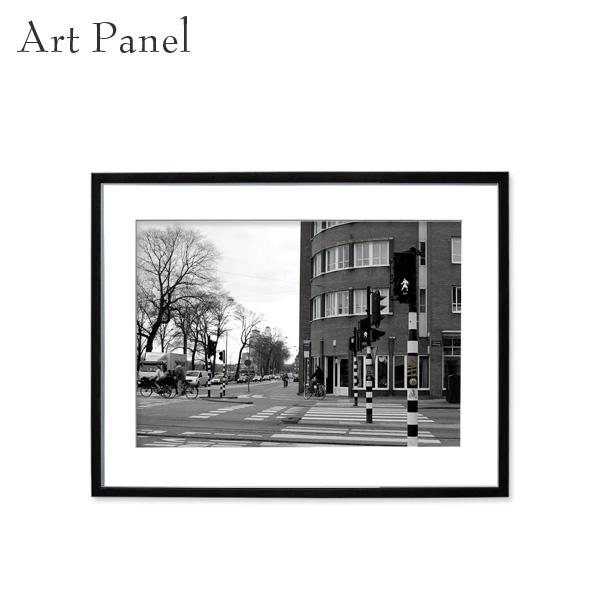壁掛け インテリア アートパネル モノクロ 海外風景 白黒 写真 壁飾り 壁 おしゃれ 額付き ウォールパネル