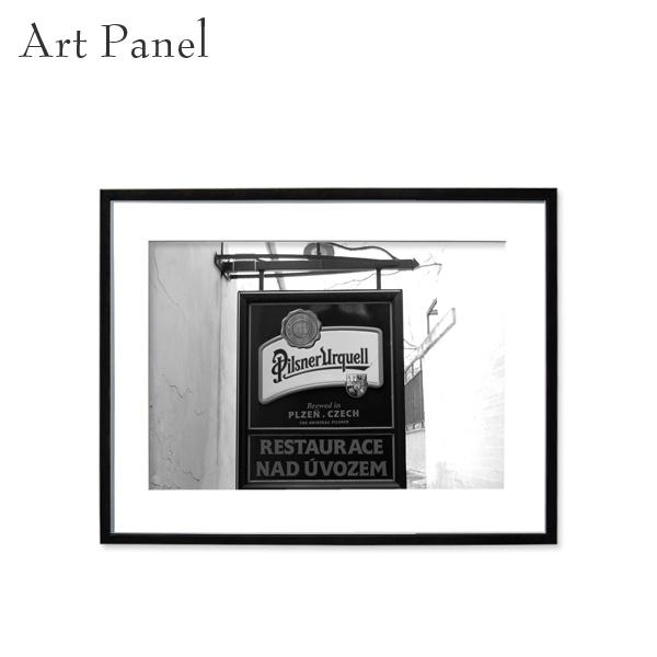 壁掛け インテリア アートパネル モノクロ 海外風景 白黒 写真 壁飾り 壁 おしゃれ 額付き 飾る