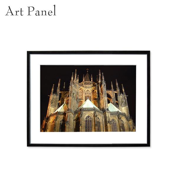 壁掛け インテリア アートパネル 城 海外風景 アート写真 壁飾り アクリル おしゃれ 額付き 飾る