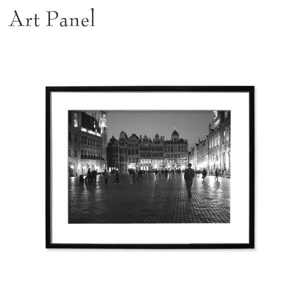 壁掛け インテリア モノクロ アートパネル アート写真 モノトーン アクリル おしゃれ 写真付き パネル 街並み