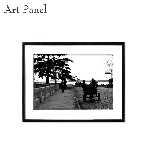 アートパネル モノクロ レトロ 壁掛け アート フレーム付き インテリア 白黒写真 おしゃれ 装飾 飾り