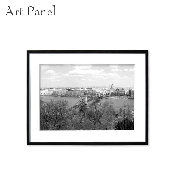 壁掛け アート モノトーン アートパネル モノクロ 街並み 風景 フレーム付き インテリア 白黒 写真 おしゃれ 壁飾り