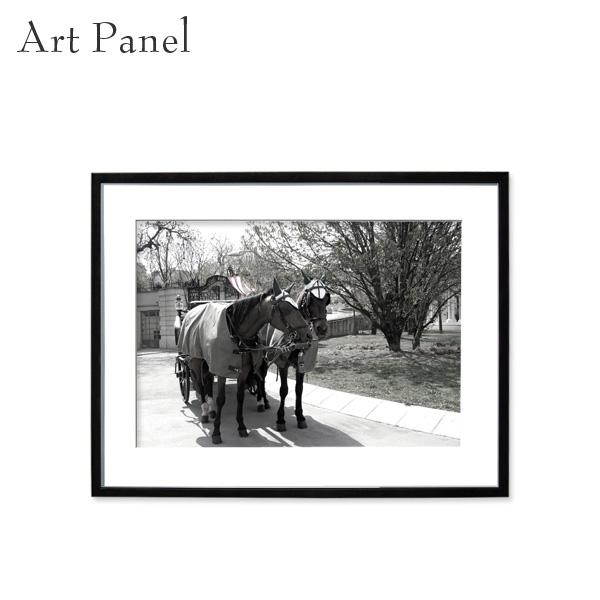 壁掛け アート モノクロ アートパネル 街並み 風景 フレーム付き インテリア 白黒 写真 おしゃれ 壁飾り